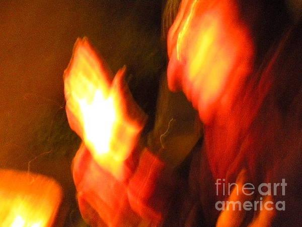 Fuel Element Photograph - Fire  by Jenny Revitz Soper