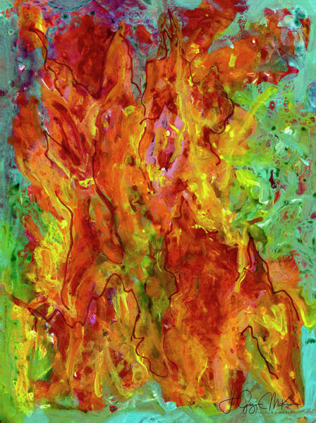 Painting - Fire by Jo-Anne Gazo-McKim