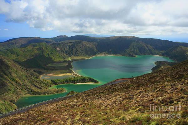 Acores Photograph - Fire Lake - Azores Islands by Gaspar Avila