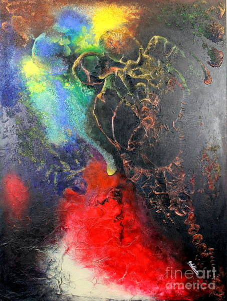 Painting - Fire Of Passion by Farzali Babekhan