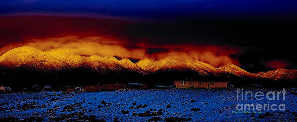 Photograph - Fire On The Mountain  by Charles Muhle