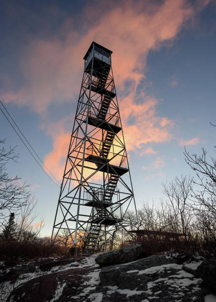 Photograph - Fire Tower Sky by Brad Wenskoski