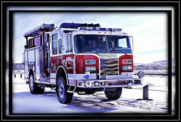 Wall Art - Photograph - Fire Truck  by Brenda D Busskohl