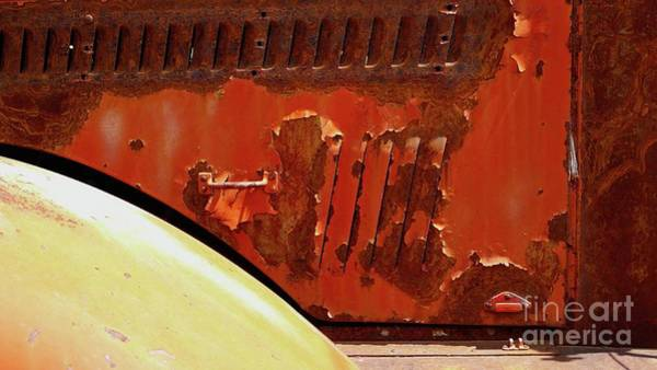 Photograph - Fire Truck Detail by Charlene Mitchell