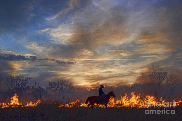 Photograph - Fire Up The Sunset by Crystal Nederman