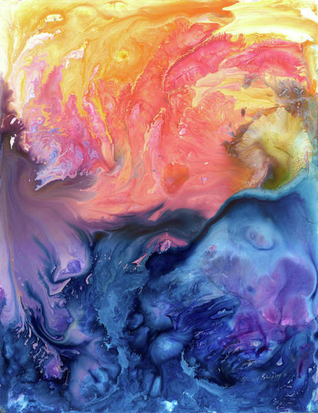 Painting - Fire Water by Sherry Shipley