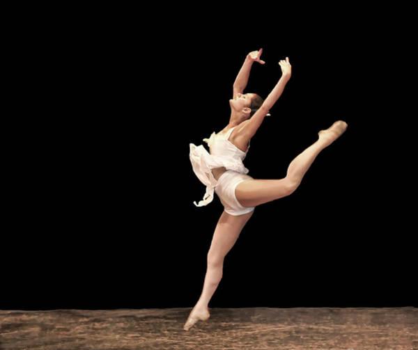 Photograph - Firebird Ballet Position by Ginger Wakem