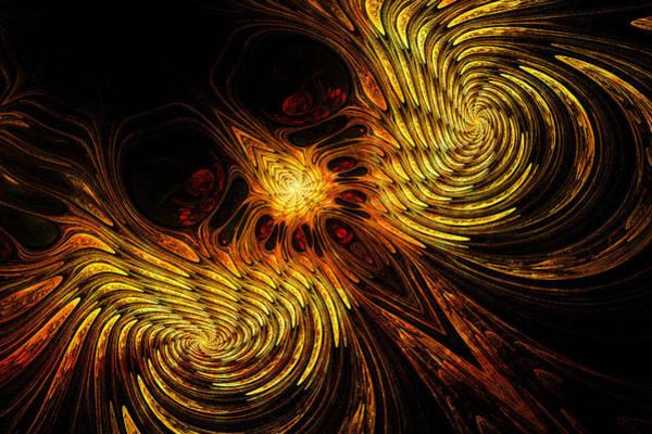 Wall Art - Digital Art - Firebird by John Edwards
