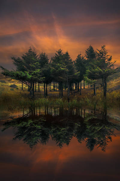 Photograph - Firefall by Debra and Dave Vanderlaan
