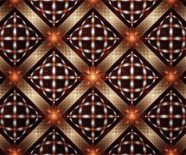 Mixed Media - Fireflies - Pattern - Fractal by Anastasiya Malakhova
