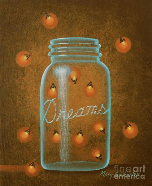Firefly Painting - Firefly Dreams by Mary Charles