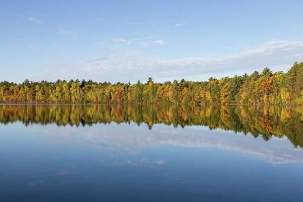 Photograph - Firefly Lake Reflection #1 by Paul Schultz