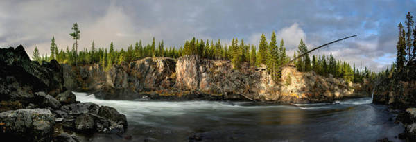 Photograph - Firehole River by David Andersen