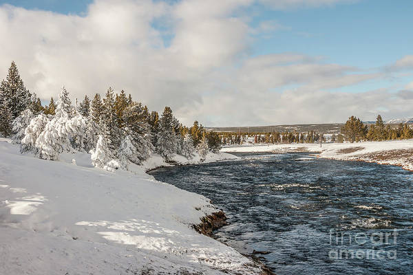 Photograph - Firehole River On A Winter Day by Sue Smith