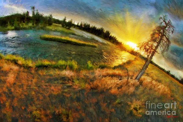 Photograph - Firehole River Yellowstone by Blake Richards