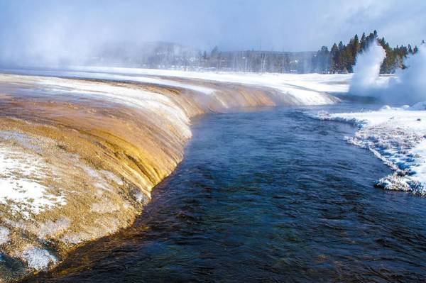 Photograph - Firehole River Yellowstone National Park by NaturesPix
