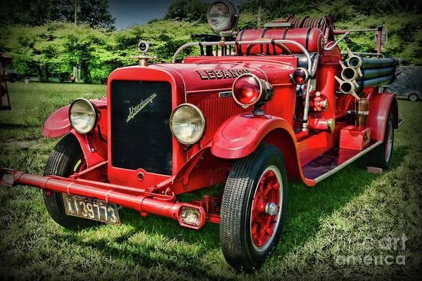 Wall Art - Photograph - Fireman- Always On Call by Paul Ward