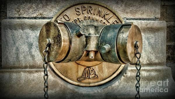Wall Art - Photograph - Fireman-brass Standpipe-urban Art by Paul Ward