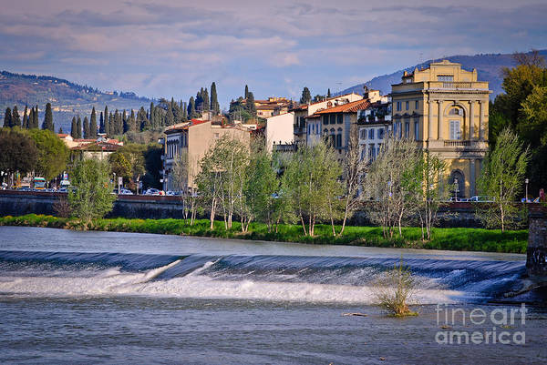 Photograph - Firenze - Italy - Arno River by Carlos Alkmin