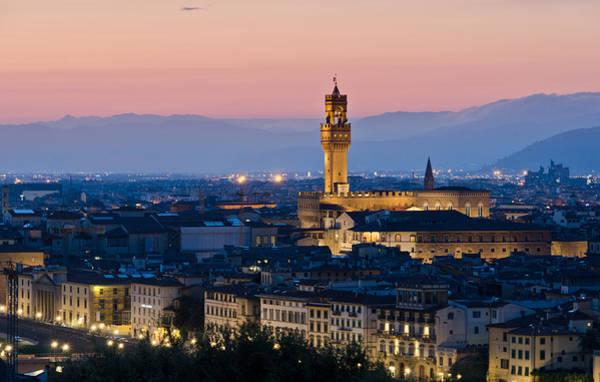 Firenze At Sunset Art Print