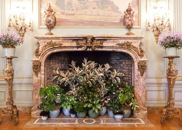 Filoli Photograph - Fireplace At Filoli by Jiayin Ma