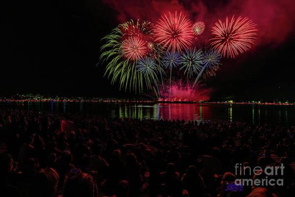 Wall Art - Photograph - Fireworks 1 by Viktor Birkus