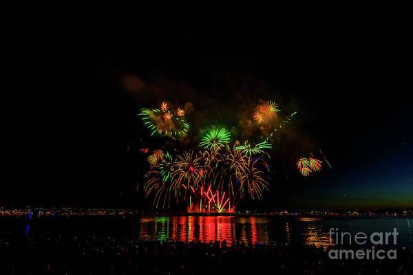Evening Wall Art - Photograph - Fireworks 10 by Viktor Birkus