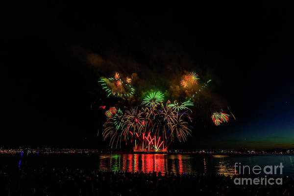 Wall Art - Photograph - Fireworks 15 by Viktor Birkus