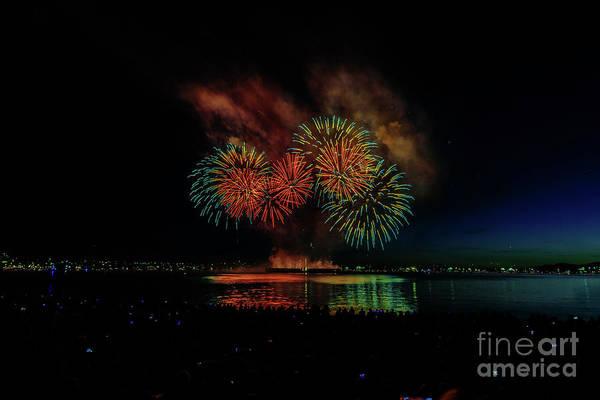 Wall Art - Photograph - Fireworks 16 by Viktor Birkus