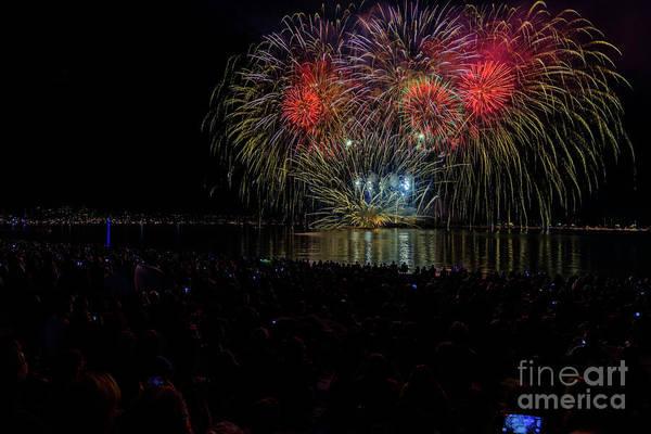 Evening Wall Art - Photograph - Fireworks 17 by Viktor Birkus