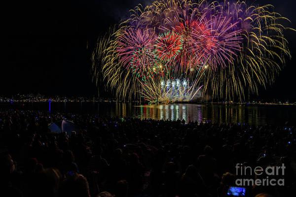 Evening Wall Art - Photograph - Fireworks 2 by Viktor Birkus