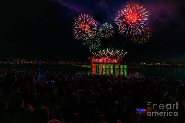 Evening Wall Art - Photograph - Fireworks 20 by Viktor Birkus