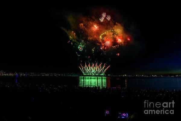 Evening Wall Art - Photograph - Fireworks 23 by Viktor Birkus