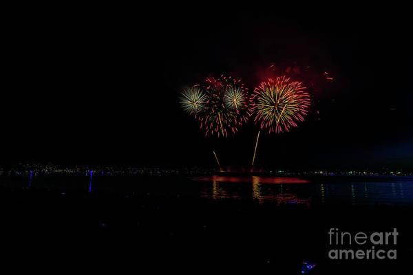 Wall Art - Photograph - Fireworks 4 by Viktor Birkus