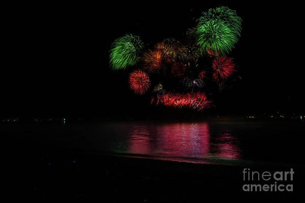 Wall Art - Photograph - Fireworks 5 by Viktor Birkus