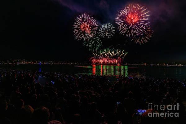 Wall Art - Photograph - Fireworks 7 by Viktor Birkus