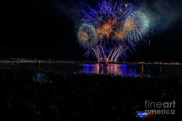 Evening Wall Art - Photograph - Fireworks 9 by Viktor Birkus