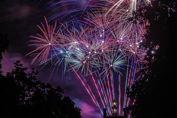 Photograph - Fireworks 2 by Jerry Gammon