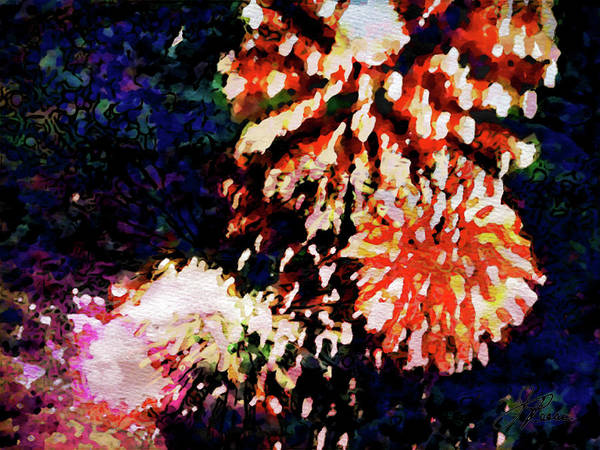 Painting - Fireworks 2 by Joan Reese
