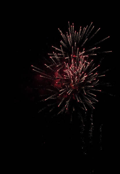Wall Art - Photograph - Fireworks 2016 I by Suzanne Gaff