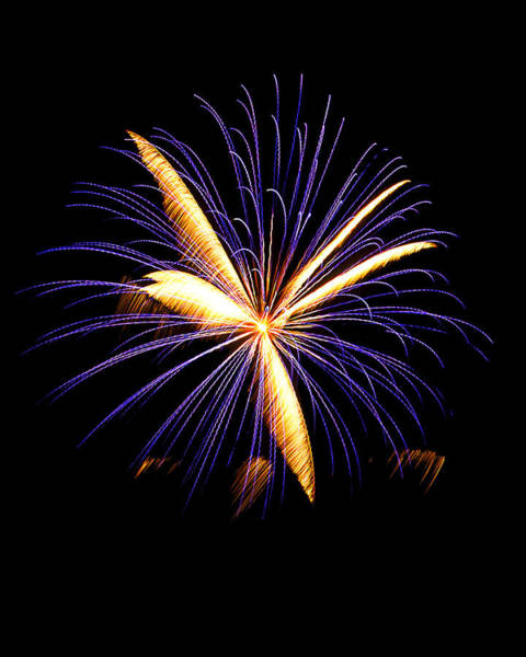 Photograph - Fireworks 6 by Bill Barber