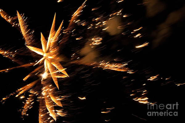 Photograph - Fireworks by Bruno Spagnolo