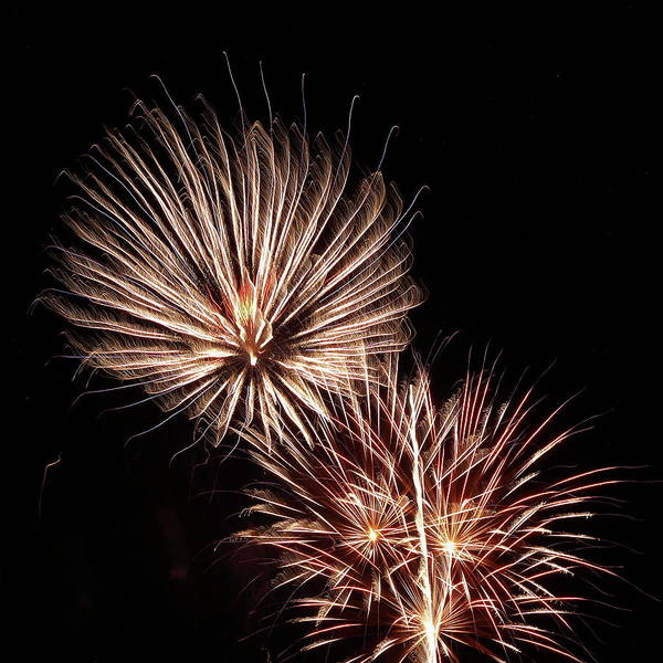 Photograph - Fireworks From A Boat - 18 by Jeffrey Peterson