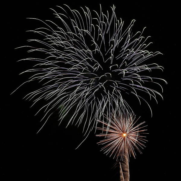 Photograph - Fireworks From A Boat - 19 by Jeffrey Peterson