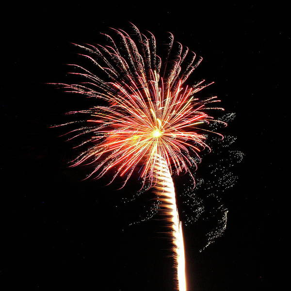 Photograph - Fireworks From A Boat - 23 by Jeffrey Peterson