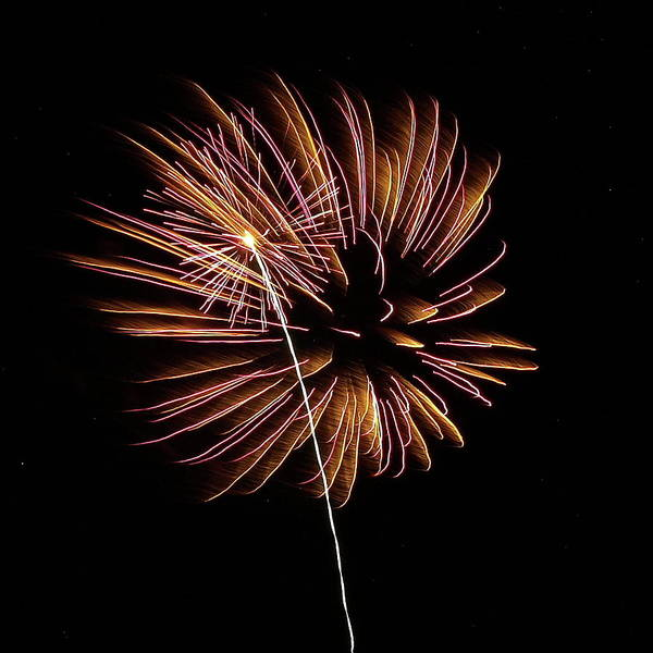 Photograph - Fireworks From A Boat - 24 by Jeffrey Peterson