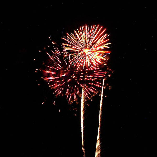 Photograph - Fireworks From A Boat - 27 by Jeffrey Peterson