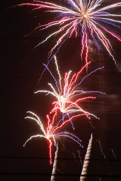 Wall Art - Photograph - Fireworks by Heather Green