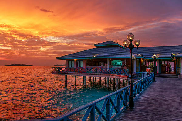 Photograph - Fireworks Of Colors. Maldives by Jenny Rainbow