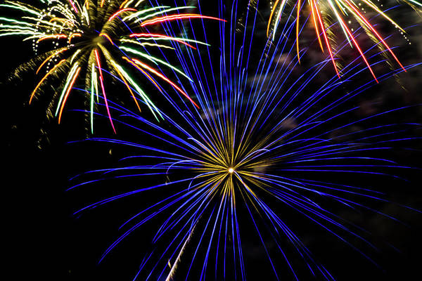 Wall Art - Photograph - Fireworks On The 4th by Marnie Patchett
